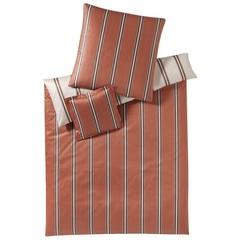 Наволочка 70x70 Elegante Cascade коричневая