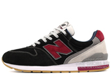 Кроссовки Мужские New Balance 996 Navy Suede Grey Bardo