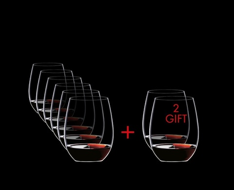 Набор из 8-и бокалов для вина Cabernet/Merlot Pay 6 Get 8 600 мл, артикул 5414/80. Серия O Wine Tumbler