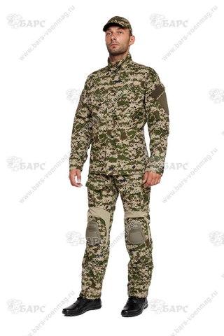 Камуфляжный костюм «Гром» (С наколенниками) Р6 (Цифра ФСБ)