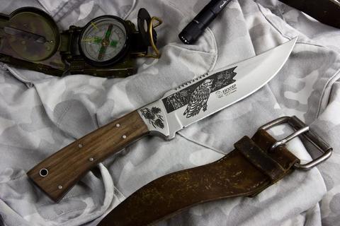 Туристический нож Ф-1 Sandvik 12с27 Художественно-оформленный