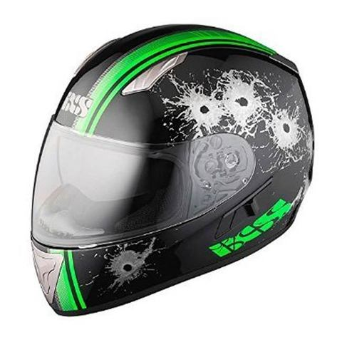 Шлем-интеграл IXS HX 1000 Shoot black-green