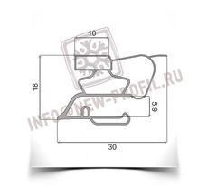 Уплотнитель для холодильника Саратов 1225М. Размер 780*450 мм (015)