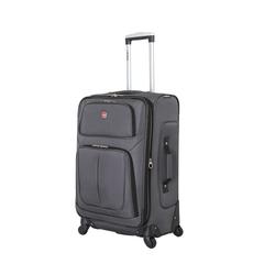 Чемодан Wenger Sion, серый, 41x26x70 см, 56 л