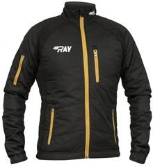 Утеплённая лыжная куртка Ray Active black-gold