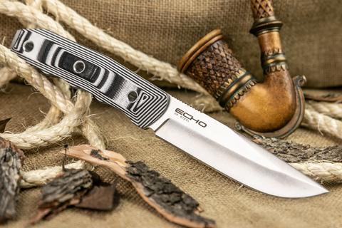Туристический нож Echo D2 StoneWash