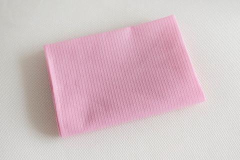 Полотенце вафельное без рисунка (Розовый)