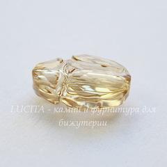 5728 Бусина Скарабей Сваровски Crystal Golden Shadow 12 мм