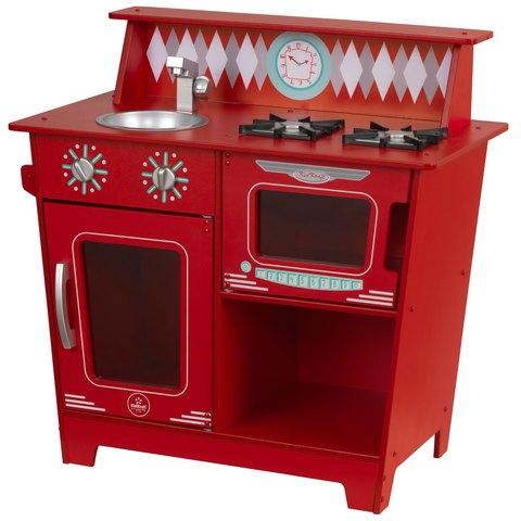 KidKraft Red Classic Красная классическая - детская кухня 53362