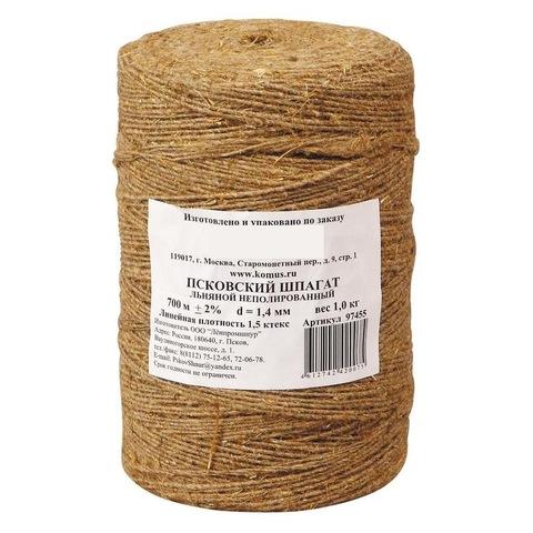 Шпагат льняной 1,5 ктекс (1кг/боб.)