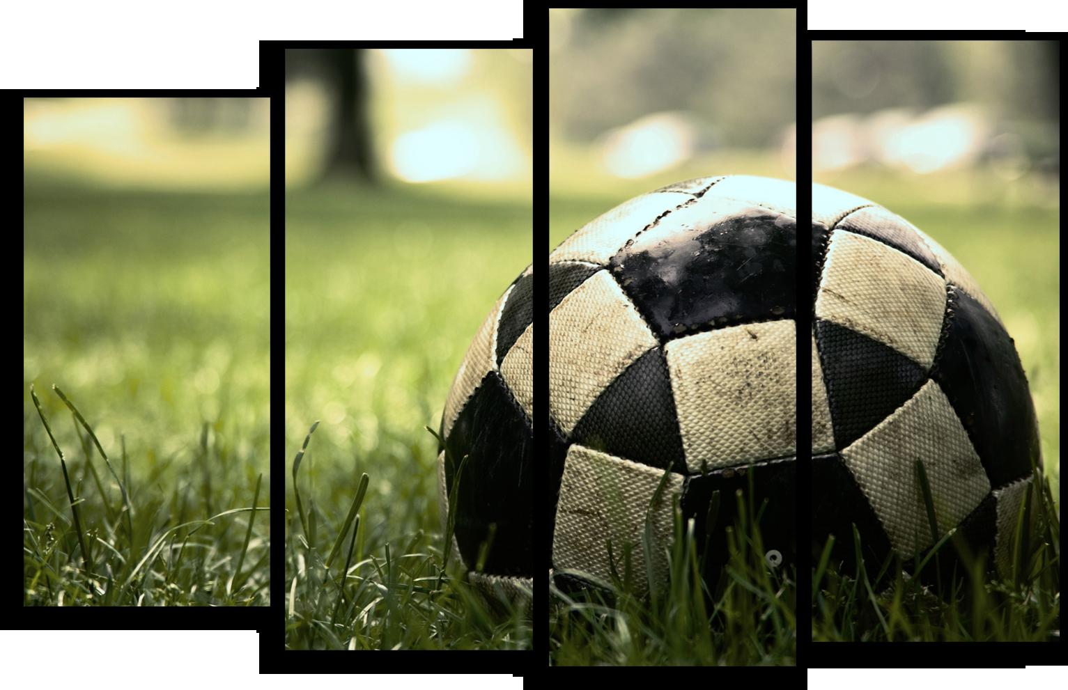"""Футбол Модульная картина """"Футбольный мячик"""" М700.png"""