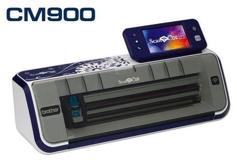 Режущий (раскройный, сканирующий) плоттер Brother ScanNCut CM900