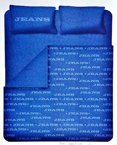 Постельное белье 2 спальное евро Caleffi Jeans