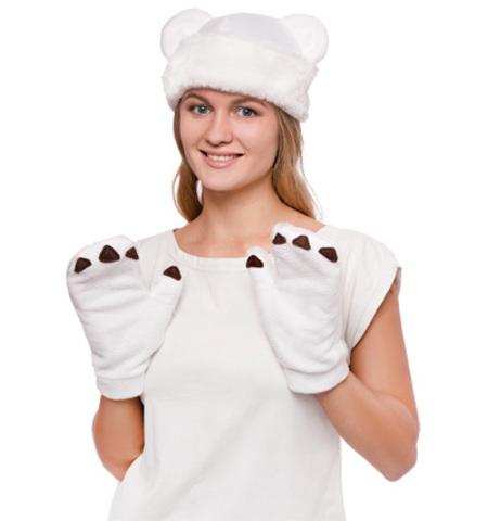 Костюм Белый Медведь мини