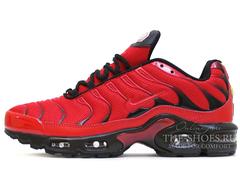 Кроссовки Мужские Nike Air Max Plus (TN) All Black Red