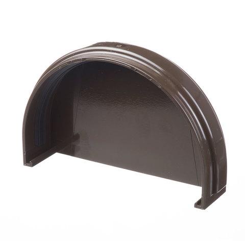 Заглушка желоба ПВХ Docke Standart Шоколад