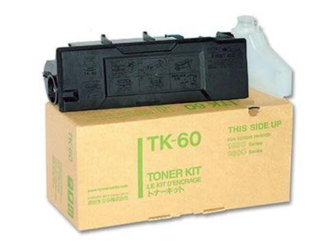 Kyocera TK-60 - тонер-картридж для принтеров Kyocera FS-1800, FS-1800+, FS-3800. Ресурс 20000 страниц.