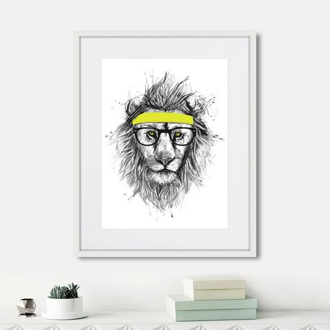 Балаш Солти - Hipster lion