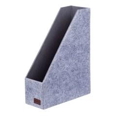 Вертикальный накопитель, Lejoys, Felt, серая, 340*250*100 мм