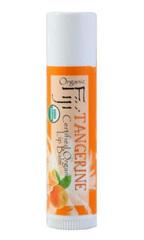 """Органический кокосовый бальзам для губ """"Мандарин"""", Organic Fiji"""