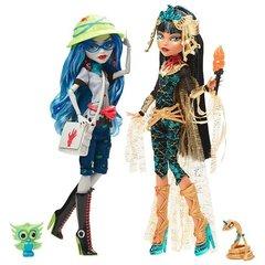 Игровой набор Монстер Хай куклы Клео де Нил (Cleo de Nile) и Гулия Йелпс (Ghoulia Yelps) - Комик Кон (Comic Con), Mattel