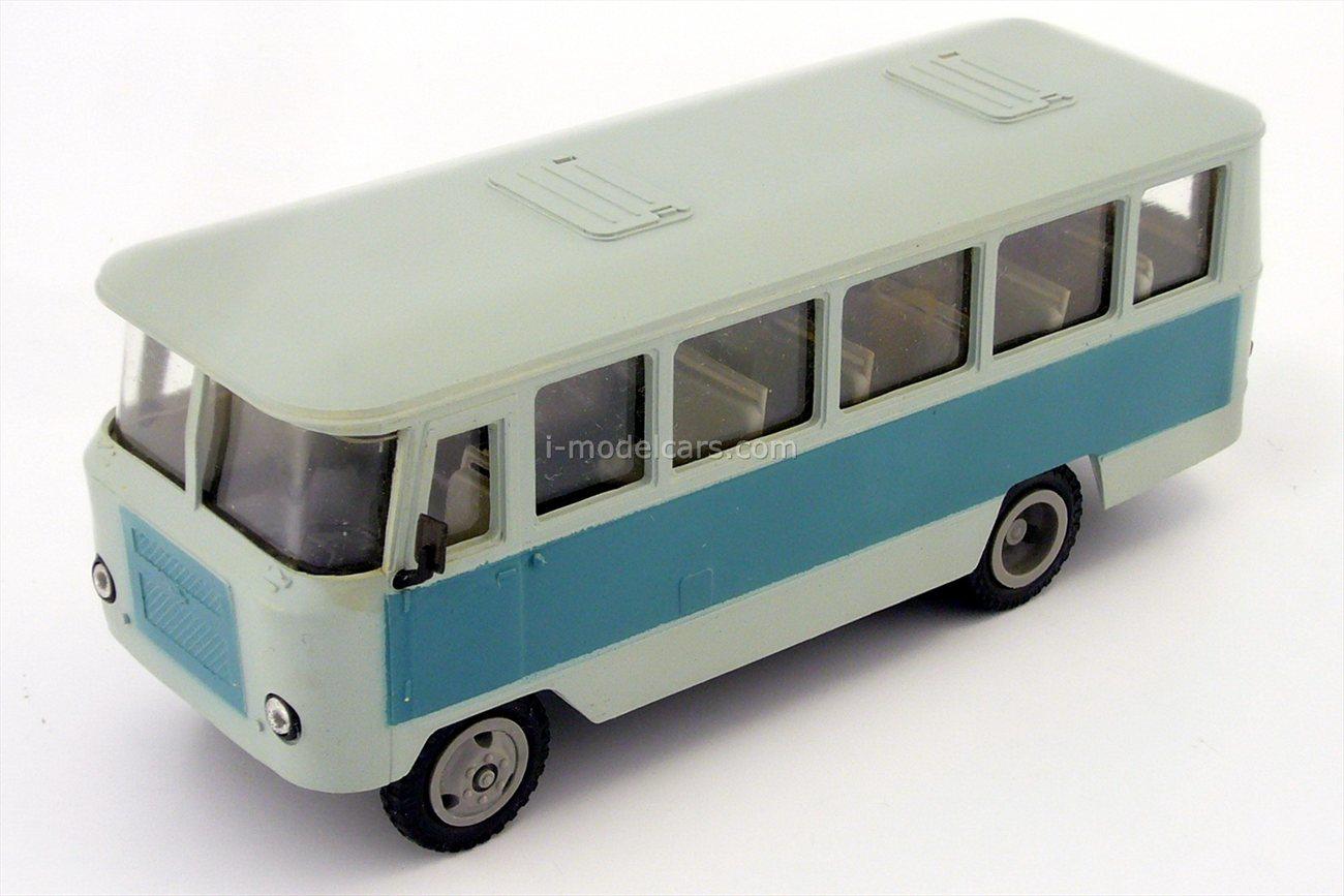 Kuban-G1A1-02 bus gray-blue Kompanion 1:43