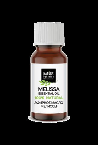 Эфирное масло мелиссы, 10 мл (Natura Botanica)