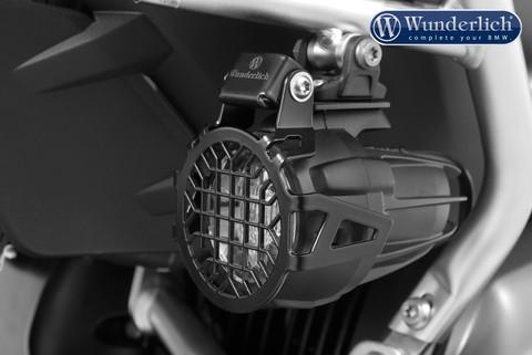 Защита металлическая оригинальных противотуманных фар(решетка) BMW черный