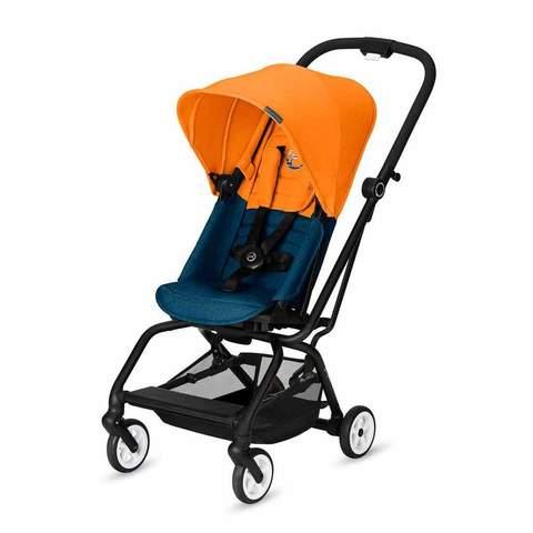 Прогулочная коляска Cybex Eezy S Twist с бампером Tropical Blue