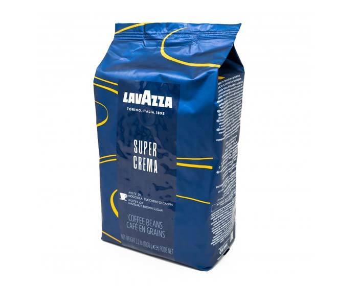 в продаже кофе в зернах LavAzza Super Crema, 1 кг