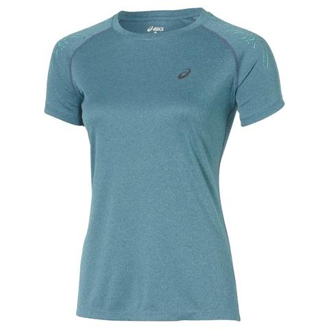 Женская футболка для бега Asics Stripe SS Top (126232 8125)