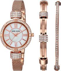 Женские наручные часы Anne Klein 2844RGST в наборе