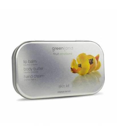Подарочный набор Папайя-лимон, Greenland