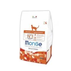 Monge Natural Superpremium Cat Adult полноценный корм для взрослых кошек с лососем 400гр