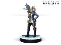 Dart, Optimate Huntress (Submachine gun, Grenades)