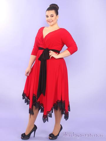 Платье Реджина красный