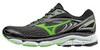 Мужские кроссовки для бега Mizuno Wave Inspire 13 черно-зеленые