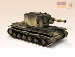 Танк КВ-2 (масштабная модель)