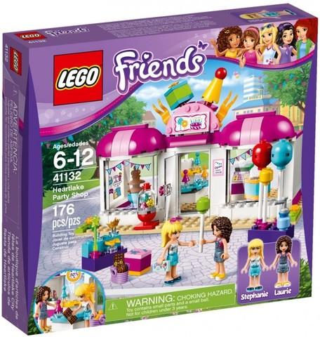 LEGO Friends: Магазин товаров для вечеринок в Хартлейке 41132 — Heartlake Party Shop — Лего Френдз Друзья Подружки