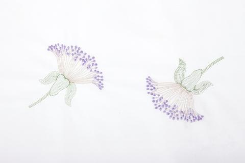 Наволочка 50х70 Bovi Gardenia белая