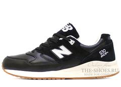 Кроссовки Мужские New Balance 530 Black White Beige