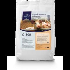 Пробиотики (кормовая добавка) для свиней на откорме Royal Feed C-500, 0,5 кг