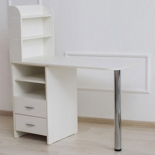 Маникюрный стол Комфорт №3 левосторонний фото