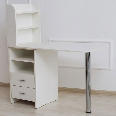 Маникюрный стол Комфорт №3 левосторонний