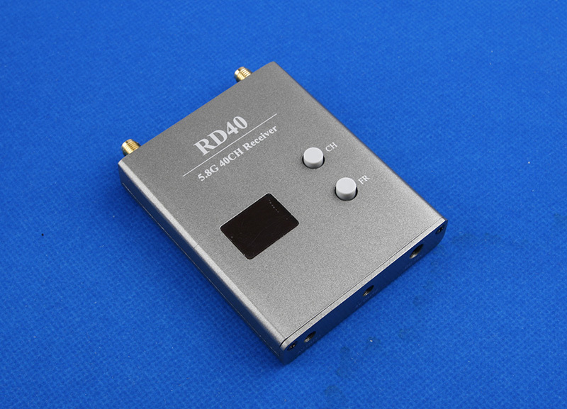 Приёмник Diversity FPV Skyzone RD40 5.8 ГГц на 32 канала для получения видео с коптера на монитор или очки