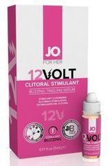 Женская возбуждающая сыворотка мощного действия JO Volt 12 VOLT, 5 мл