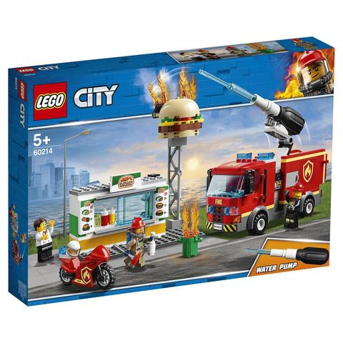 LEGO City: Пожар в бургер-кафе 60214 — Burger Bar Fire Rescue — Лего Сити Город