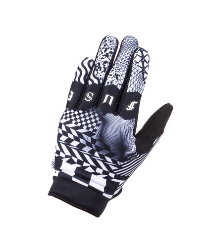 Перчатки Fuse Chroma Dimension (черный / белый)
