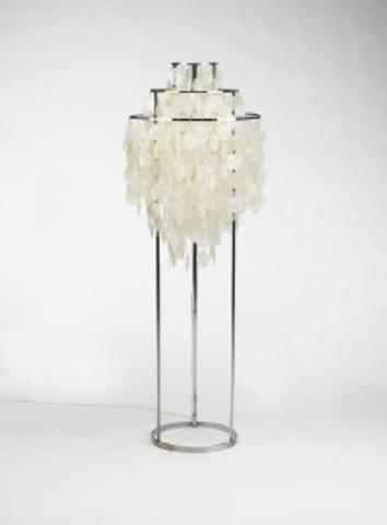Replica verner panton fun floor lamp mozeypictures Gallery
