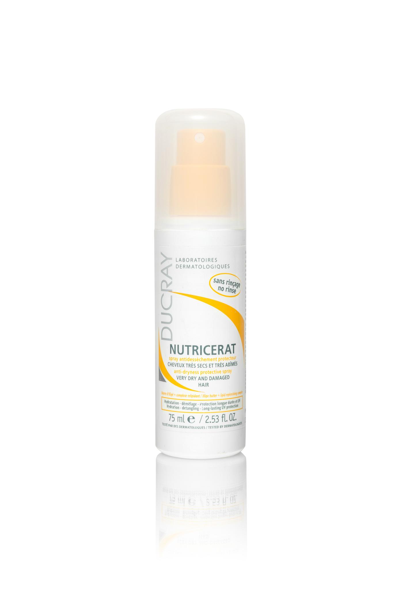 Ducray Nutricerat защитный спрей для сухих волос 75 мл.